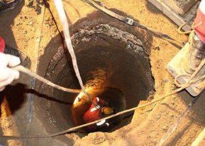 چاهکن ۵۰ ساله در آران و بیدگل جان باخت