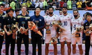 امیر غفور در جمع بهترینهای والیبال قهرمانی آسیا