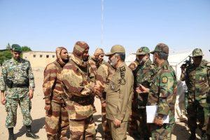بازدید فرماندهی کل ارتش از گروه ۸۴۰ موشکی کاشان