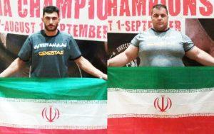حسین مجیدی و ابوالفضل شکور قهرمان و نایبقهرمان آسیا شدند - Copy