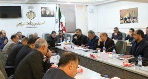 نشست مشترک معاون وزیر سمت، نماینده و روئسای ادارت کاشان