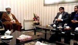 عبدالنبی نمازی امامجمعه کاشان در دیدار با دکتر محمد آسایی