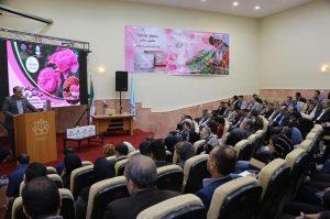 فرماندار کاشان در دومین کنفرانس گل محمدی