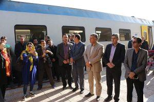 ورود قطار گردشگری به کاشان