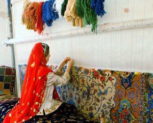 فرش دستباق کاشان و اصفهان و نایین ثبت جهانی شده است
