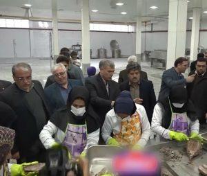 واحد تولید کنسرو ماهی در کاشان