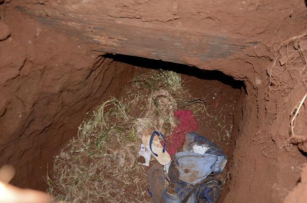حفر تونل برای فرار از زندان در پاراگوئه