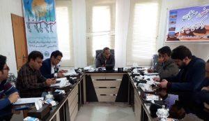 نشست خبری رضا شیعی رئیس اداره منابع طبیعی آران و بیدگل