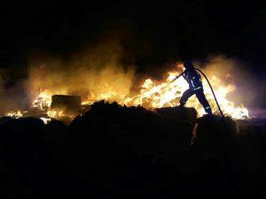 آتش سوزی در کاشان