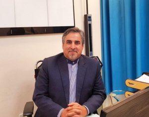 دکتر مصطفی سرویزاده رئیس بیمارستان آیتالله یثربی کاشان