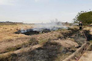 آتشسوزی در مراتع کاشان
