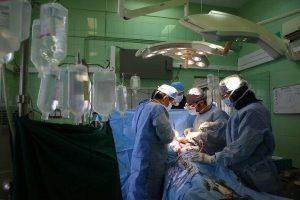 عمل جراحی قلب باز بیمار کرونا در کاشان