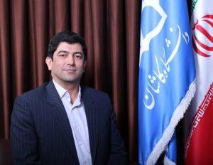 مجید منعمزاده معاون پژوهشی دانشگاه کاشان