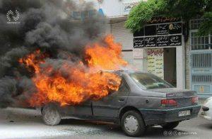 آتشسوزی خودرو