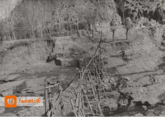بازسازی تخریبهای سیل ۱۳۳۵ برزک کاشان