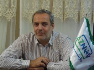 ابوالفضل اکبری مدیرعامل شرکت ازنو
