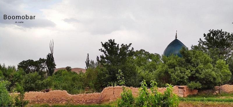 نمایی از روستای آرنجن کاشان
