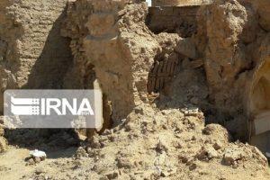 نشت آب موجب تخریب یک باب مسجد در کاشان شد