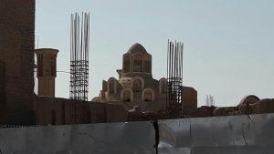 دفن سیما و منظر خانه بروجردیهای کاشان