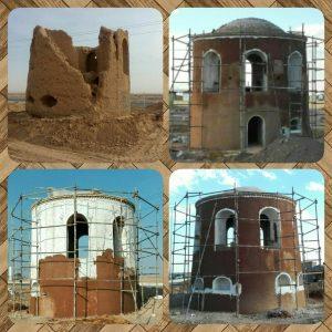 برج عشقآباد و برجهای منفرد نوشآباد در حال تعمیر