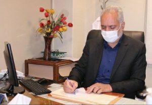 دکتر ابوالفضل شجاعی رئیس بیمارستان بهشتی کاشان