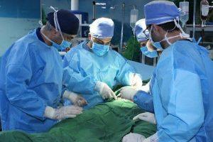 جراحی موفق حفره «استابولوم» در بیمارستان بهشتی کاشان