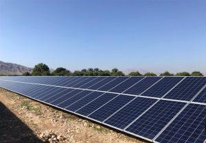 ۱۱ نیروگاه خورشیدی در کاشان به بهرهبرداری رسید