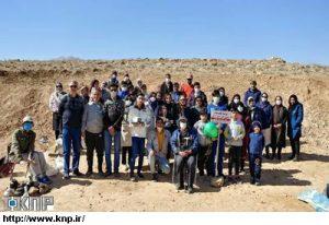 نخستین پویش تولد طبیعت کشور در کاشان برگزار شد