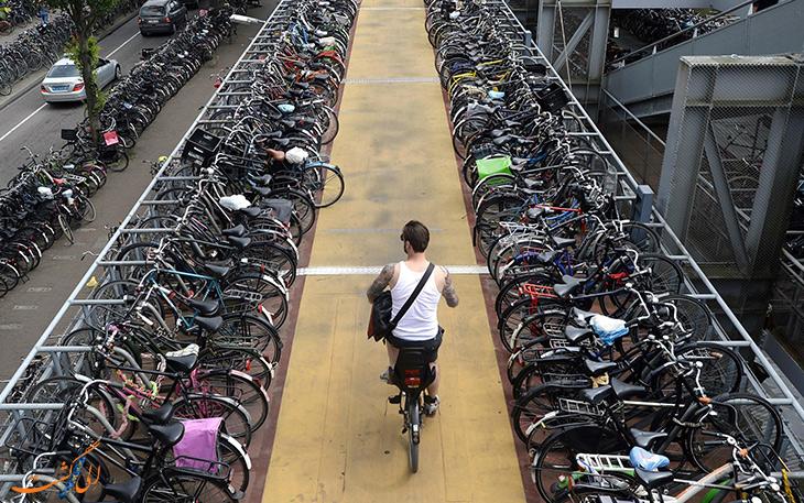 دوچرخه؛ کنترل ترافیک، کاهش آلودگی