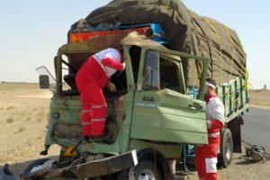 یک کشته و ۵ زخمی در ۲ حادثه رانندگی در جاده نطنز