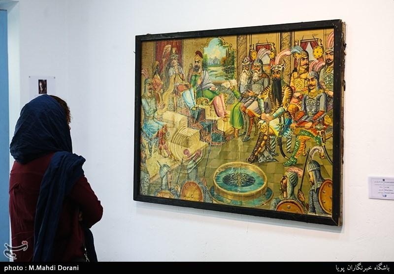 طرح وحیده رزاقزاده در نمایشگاه نیدرا آرت پاریس
