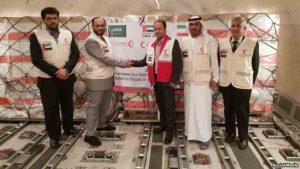 کمک ۹۵ تنی امارات و عربستان سعودی به سیلزدگان ایران