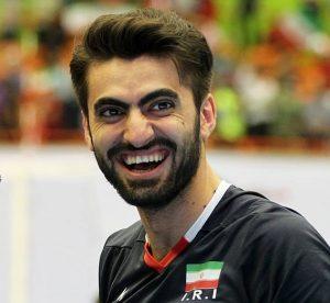 امیر غفور ملیپوش کاشانی والیبال ایران مورد تمجید فدراسیون جهانی