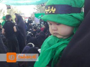 همایش شیرخوارگان حسینی کاشان ۶ محرم ۱۵ شهریورماه ۹۸