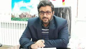 محسن حیدری مدیر منطقه ۳ شهرداری کاشان