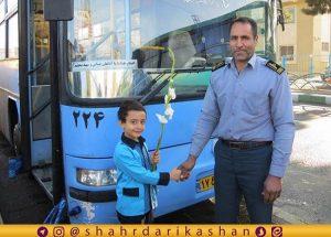 ناوگان اتوبوسرانی کاشان به استقبال ماه مدرسه می رود